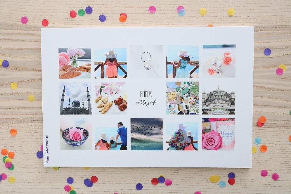 fotocollage maken met instagram fotos