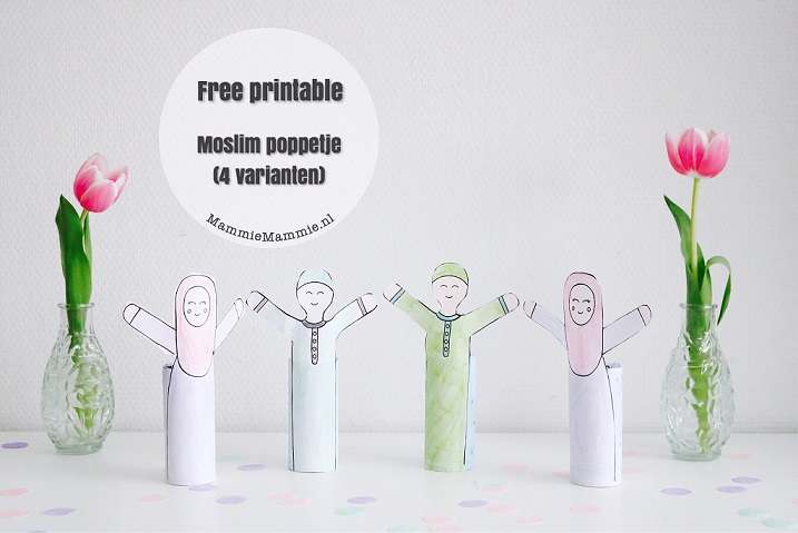gratis knutsel printable wc rol