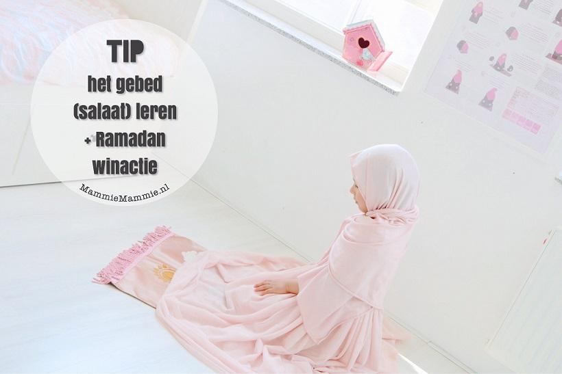 islamitische poster gebed leren