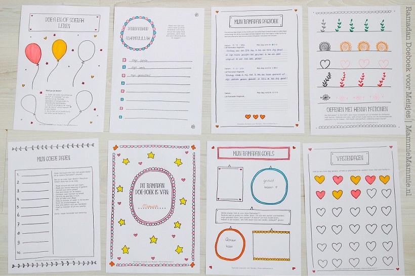 ramadan doeboek voor meisjes