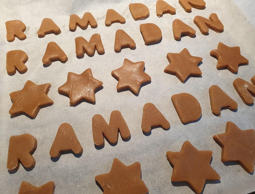 Ramadan koekjes bakken