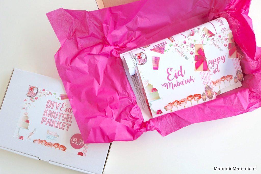 diy eid pakket voor meisjes