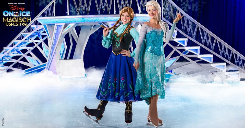 elsa anna disney on ice rotterdam