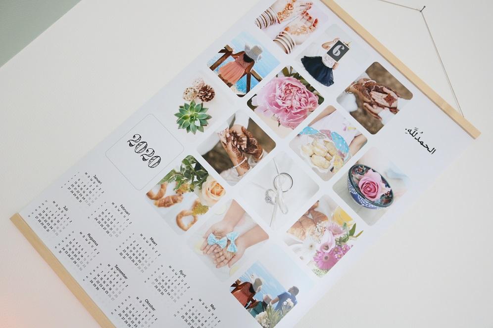2020 kalender maken met fotos