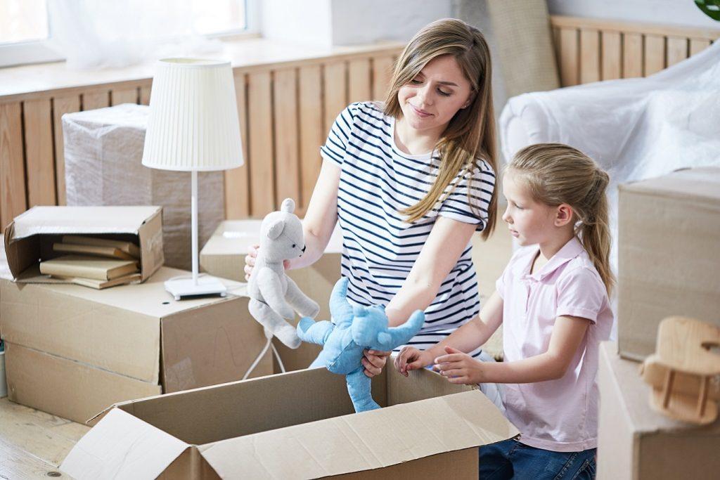 kind verhuizen