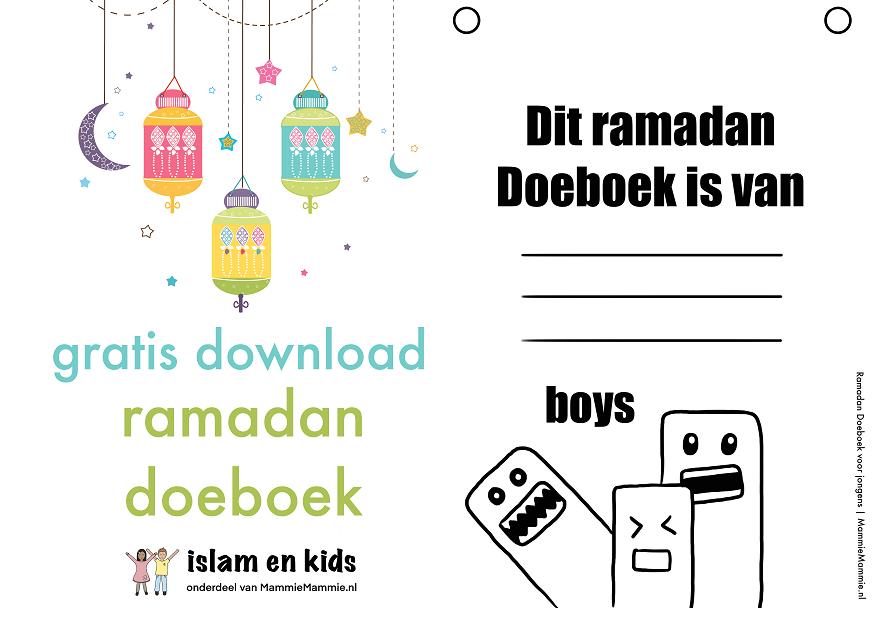 gratis ramadan werkboek jongens