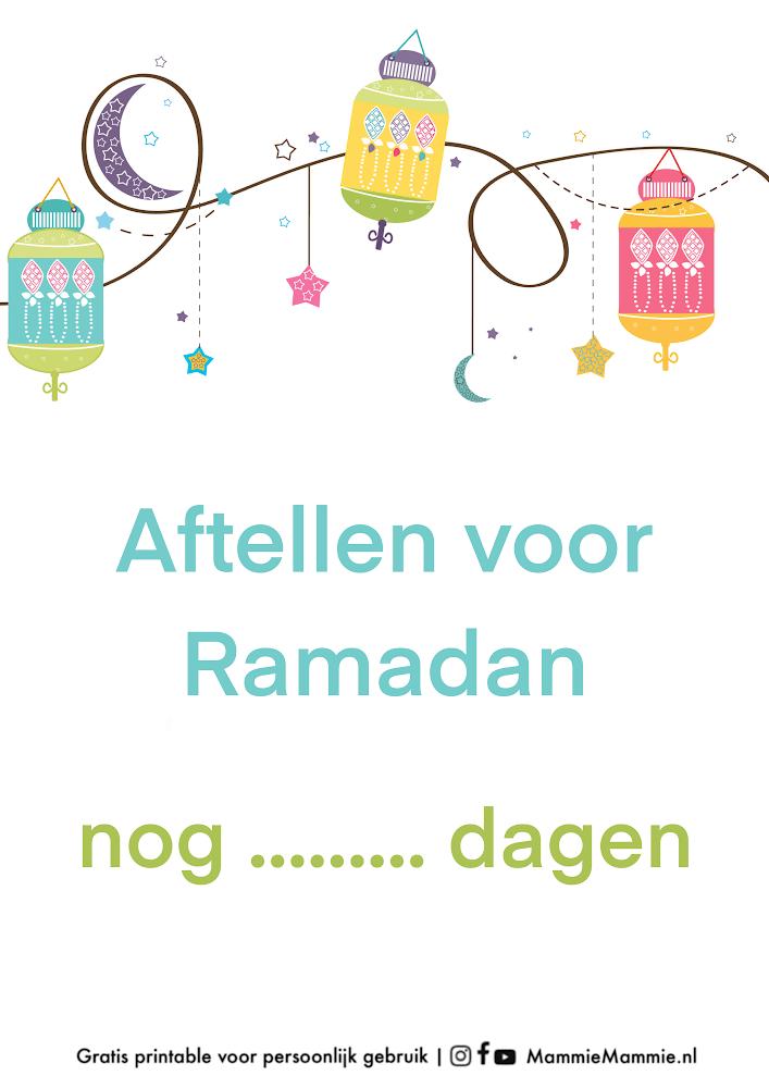 gratis aftel kalender ramadan