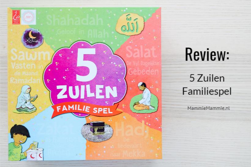 5 zuilen familie spel
