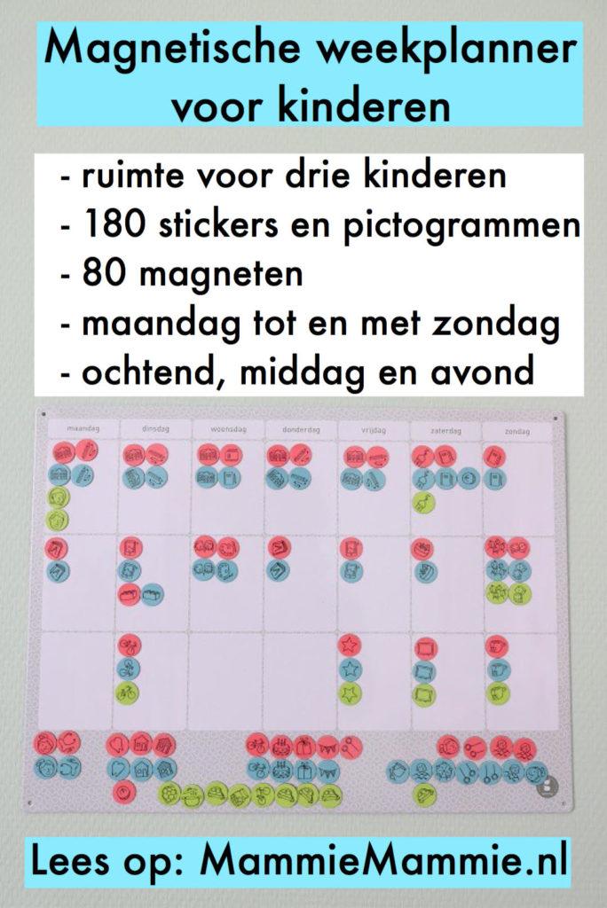 weekplanner voor kind