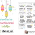 broodtrommel kaartjes islam en kids
