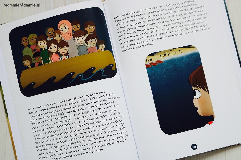 kinderboek ayla's vlucht oorlog syrië