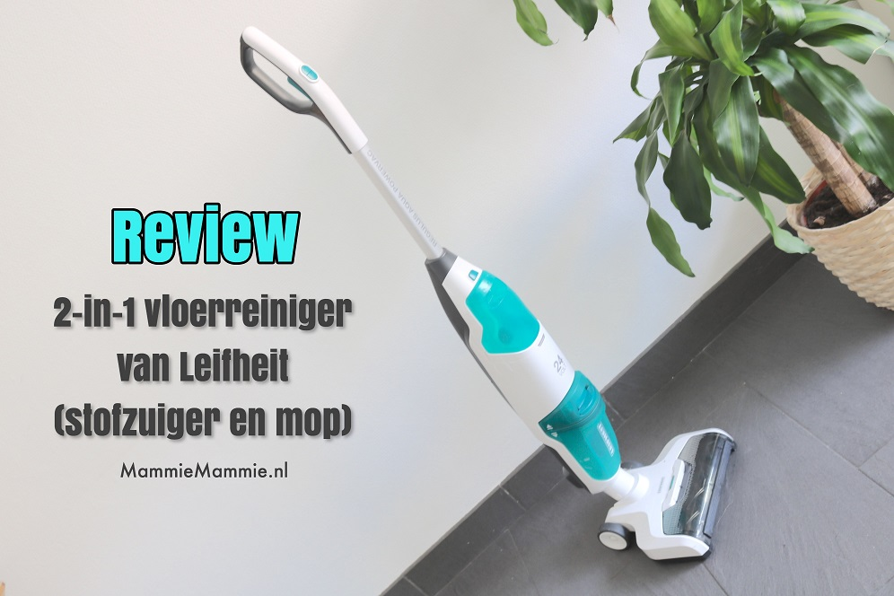 review vloerreiniger leifheit 2-in-1