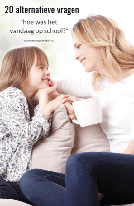 vragen stellen over school aan je kind