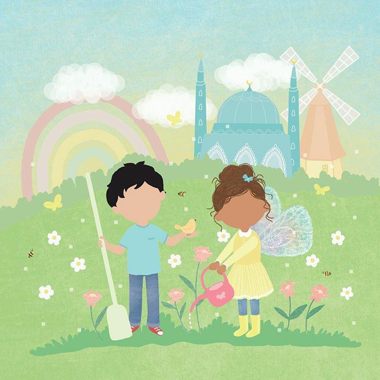 sara en hamza islamitisch kinderboek
