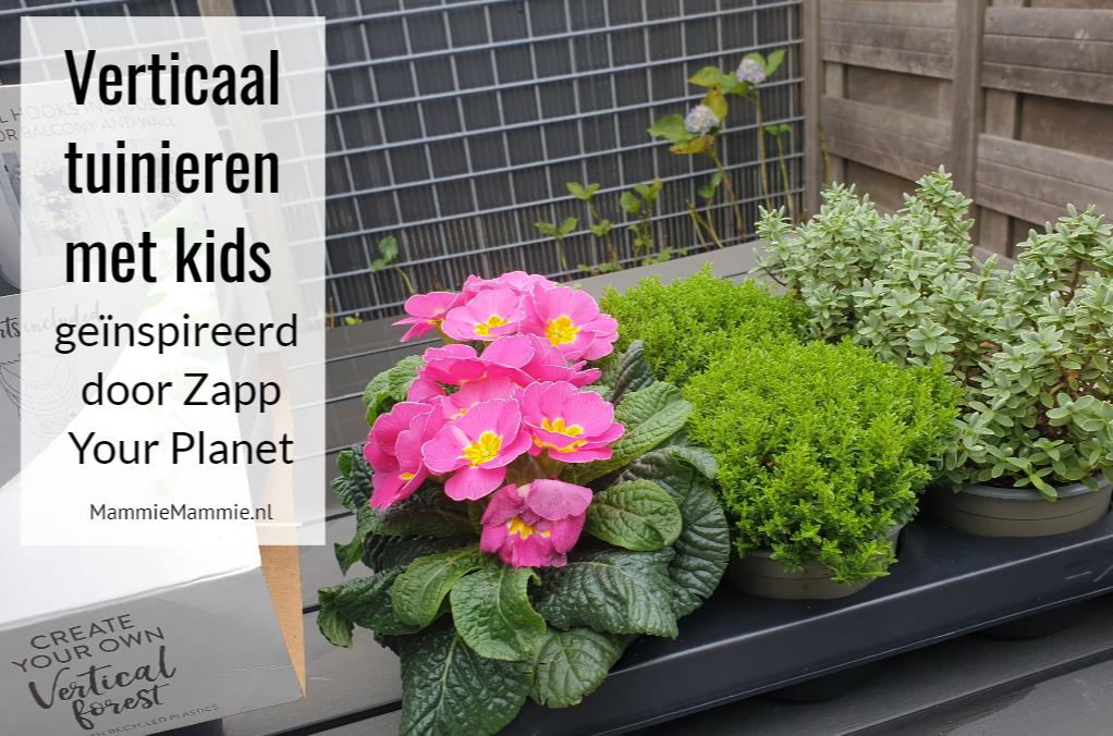 verticaal tuinieren met kinderen