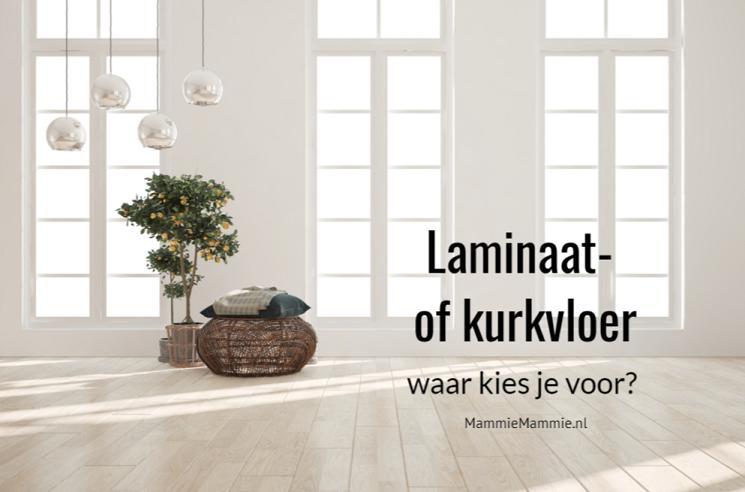laminaat of kurkvloer