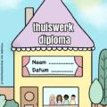 diploma thuiswerk kinderen