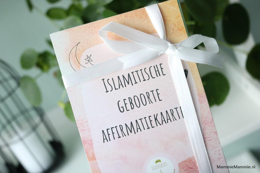 geboortekaart islamitisch