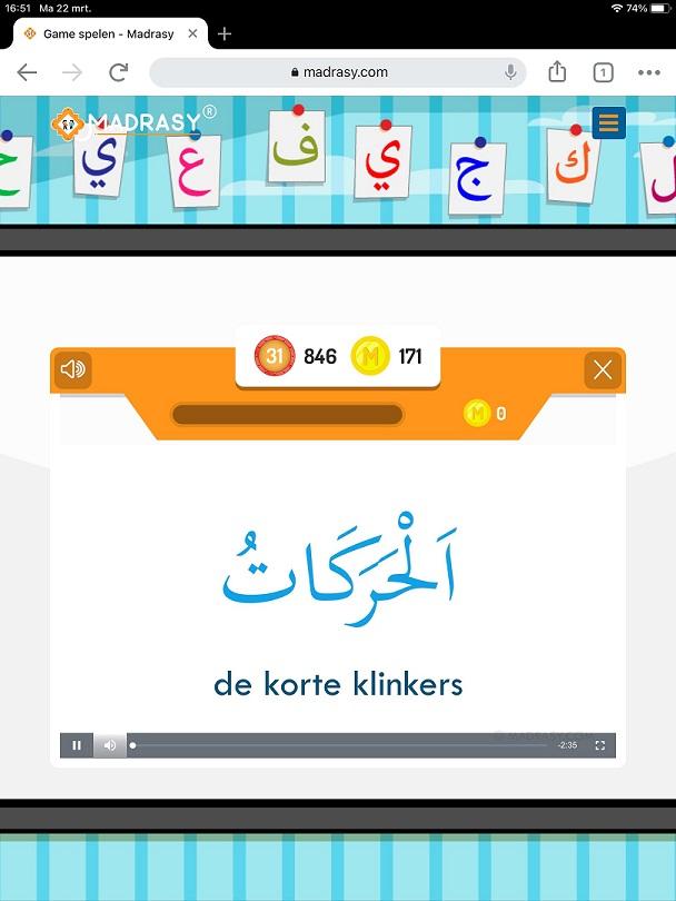 Grammatica Arabisch leren