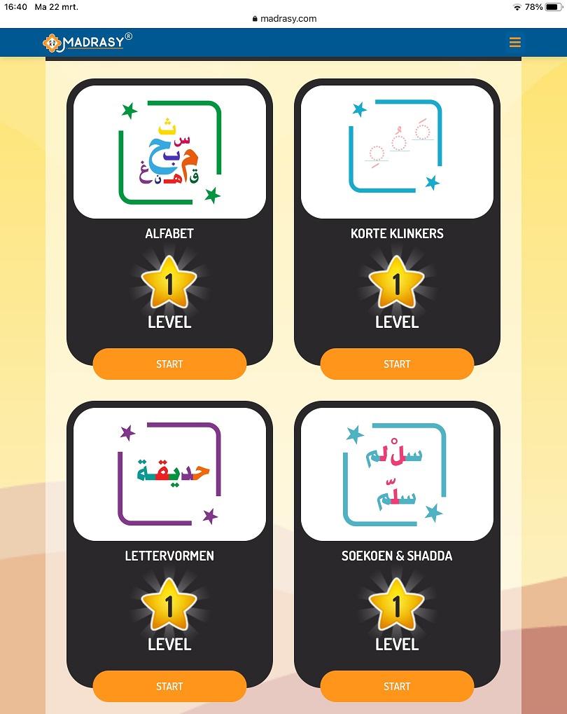 arabische grammatica leren
