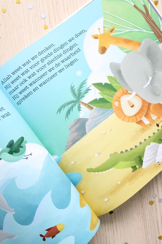 kinderboek over Allah