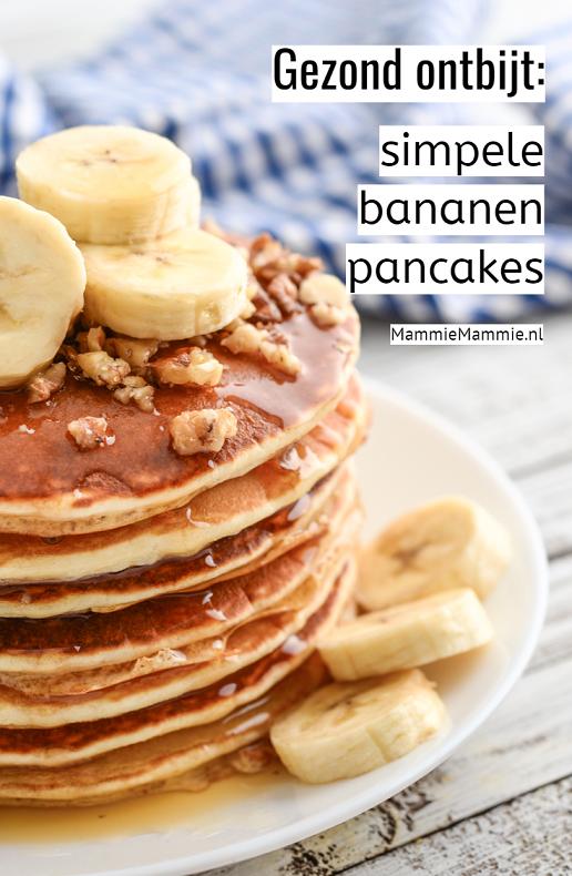 bananen pancakes recept