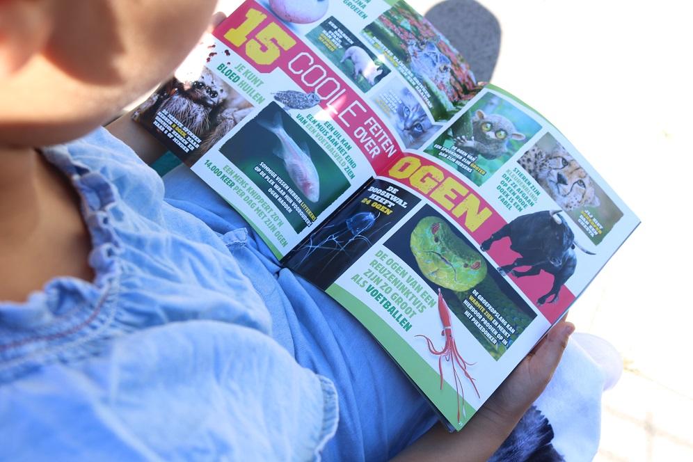 tijdschrift kinderen dieren