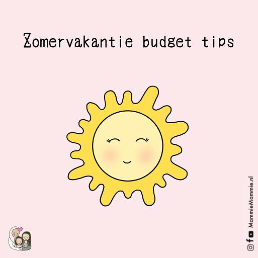 budget tips kinderen zomervakantie