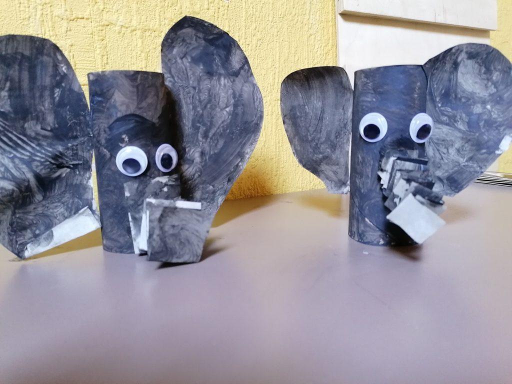 knutselwerk olifant