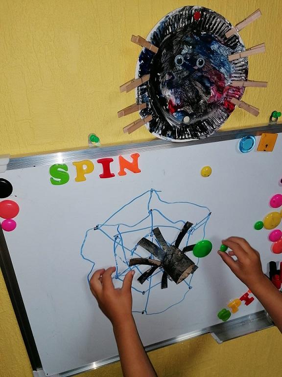 les over spinnen