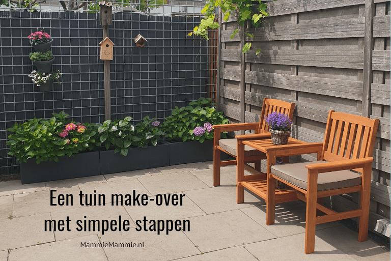 simpele tuin make-over