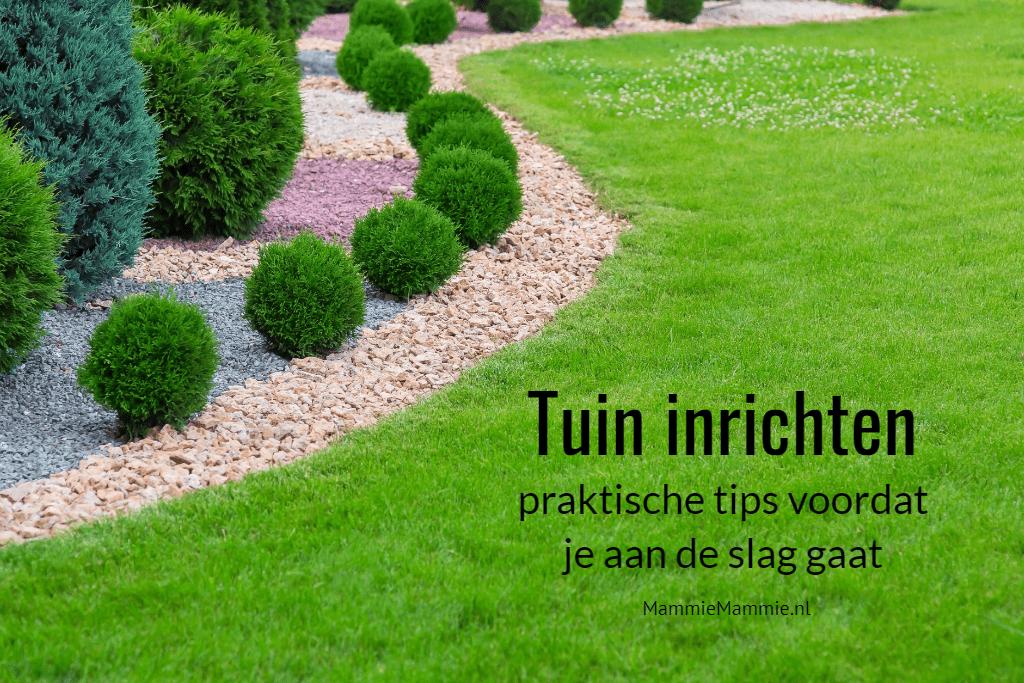 tips inrichten van tuin