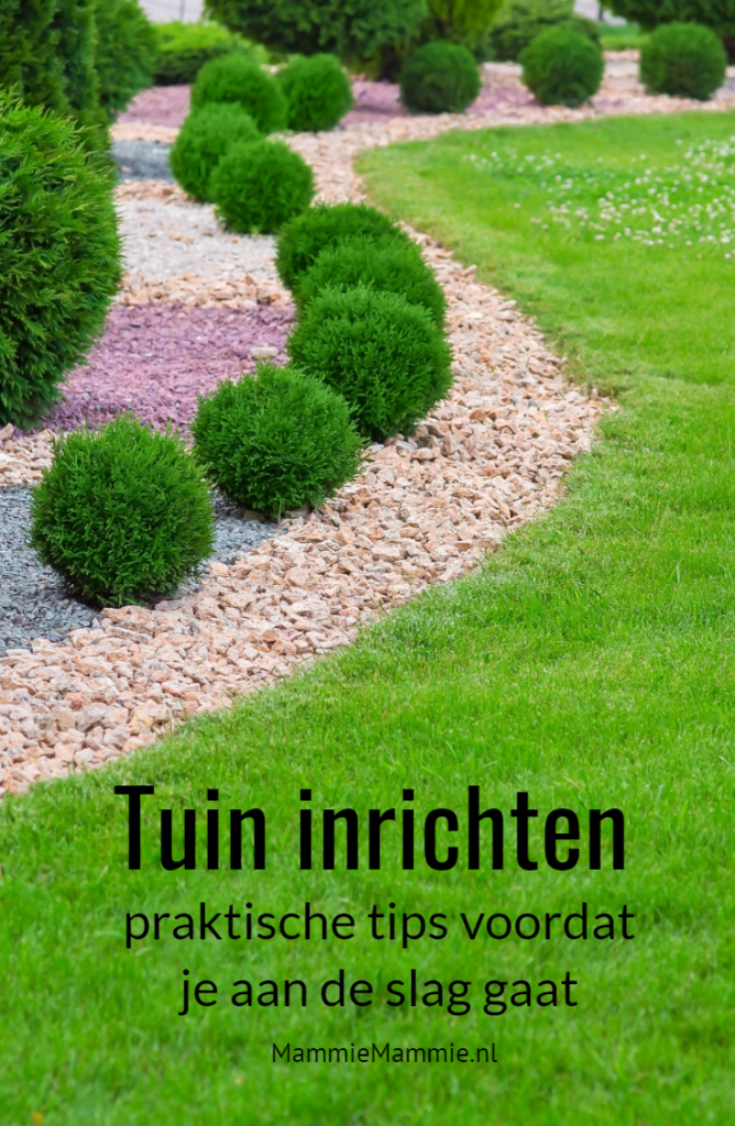tips inrichting tuin