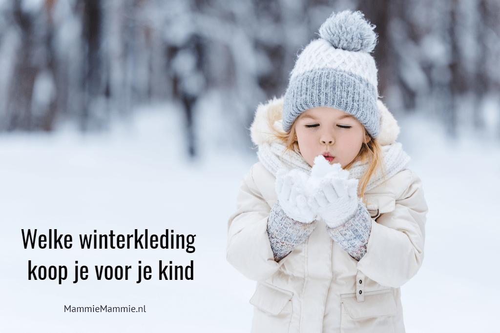 welke winterkleding kopen voor kleuter