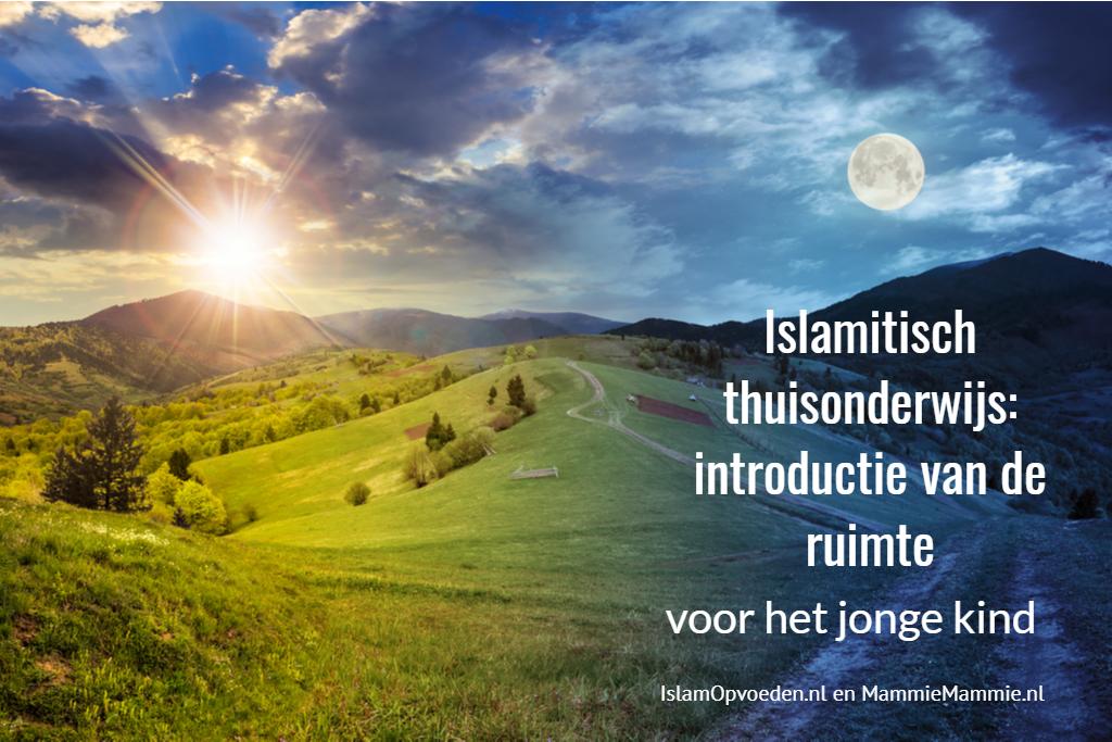islamitisch thuisonderwijs maan en zon